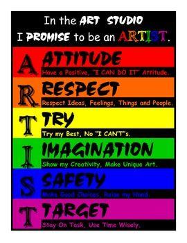 ARTIST - Art class rules