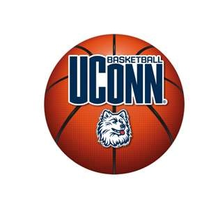 UConn Huskies Basketball Logo fathead coupon