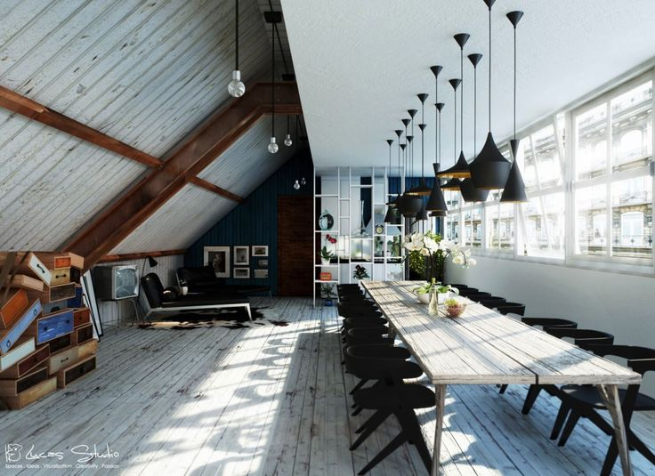 Dining Room Ideas:Dining Room In The Roof Must Have Good Layour Decor 20 Dining-Rooms