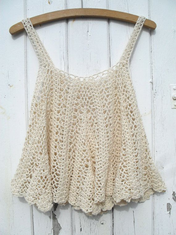 crochet tank-top