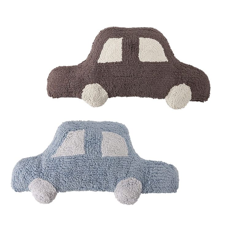 Lorena Canals - Kinderkamer kussens Cars cotton