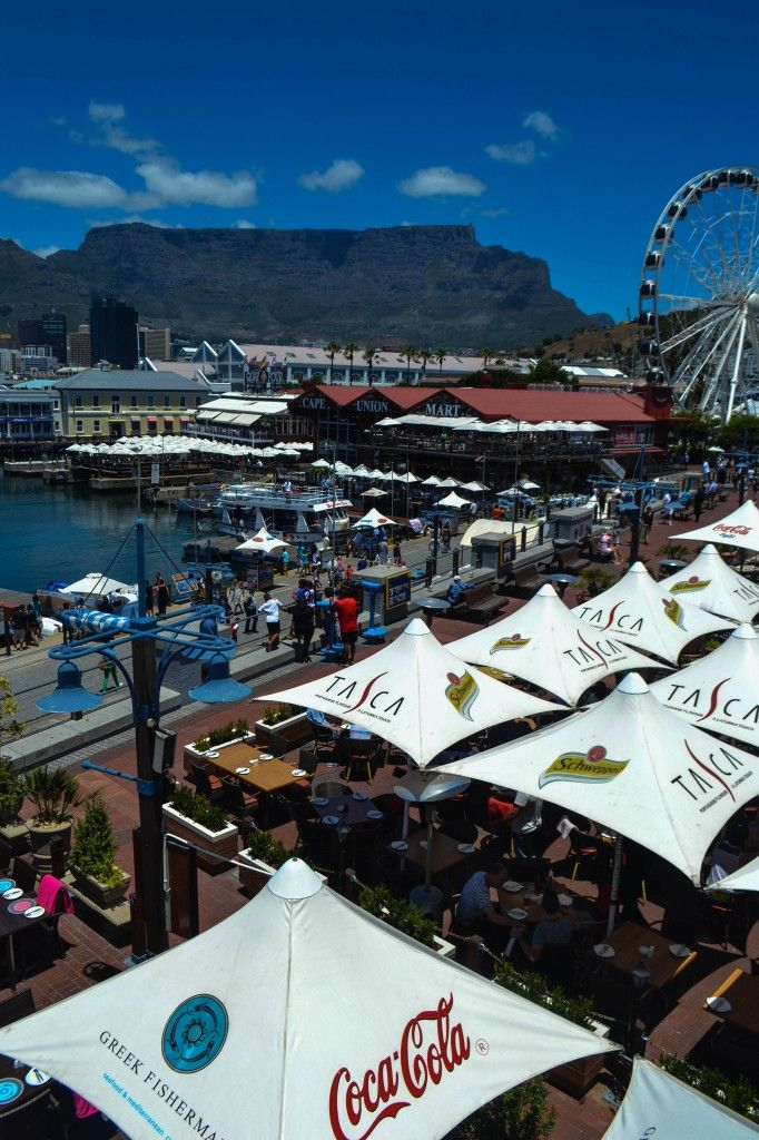 Victoria & Alfred Waterfront - Cape Town, South Africa - Restaurants, shops and some of the best views of Table Mountain!