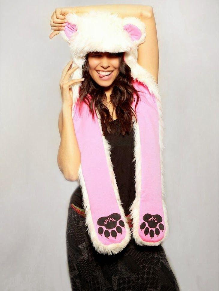 @SpiritHoods (The Original) #fauxfur #fakefur #ecofur #hats #accessories #fashion #style #fashionblogger #photography #cool #LA #california #trend #winer #peta #white #black #animal Spirit Hoods, fake faux fur 100%acrylic animal friendly accessories hat, cappelli copricapi  pelliccia ecologica  divertenti  animali, fashi...