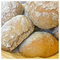 Bovetefrallor – lätt att baka naturligt glutenfritt bröd