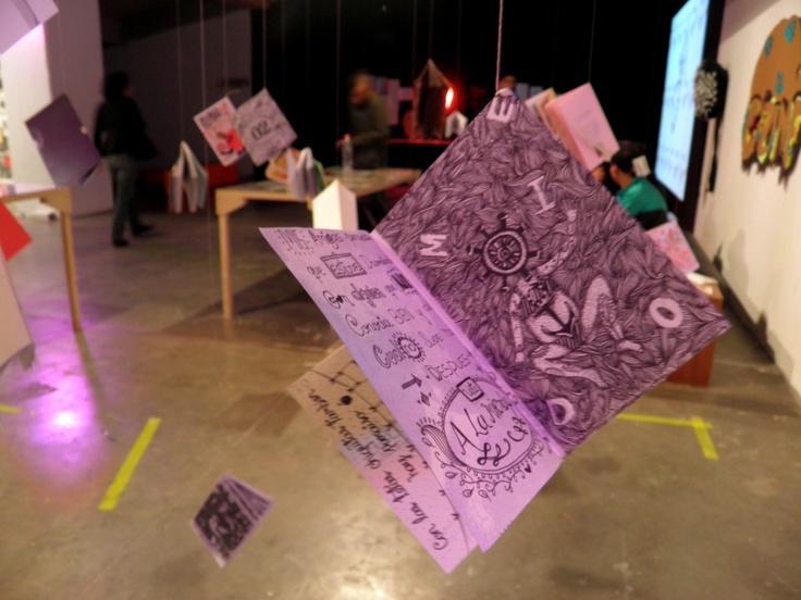 Muestra y el laboratorio de Fanzines C-Zine 2013 Museo de Arte del Banco de la República, Espacio de proyectos El Parqueadero