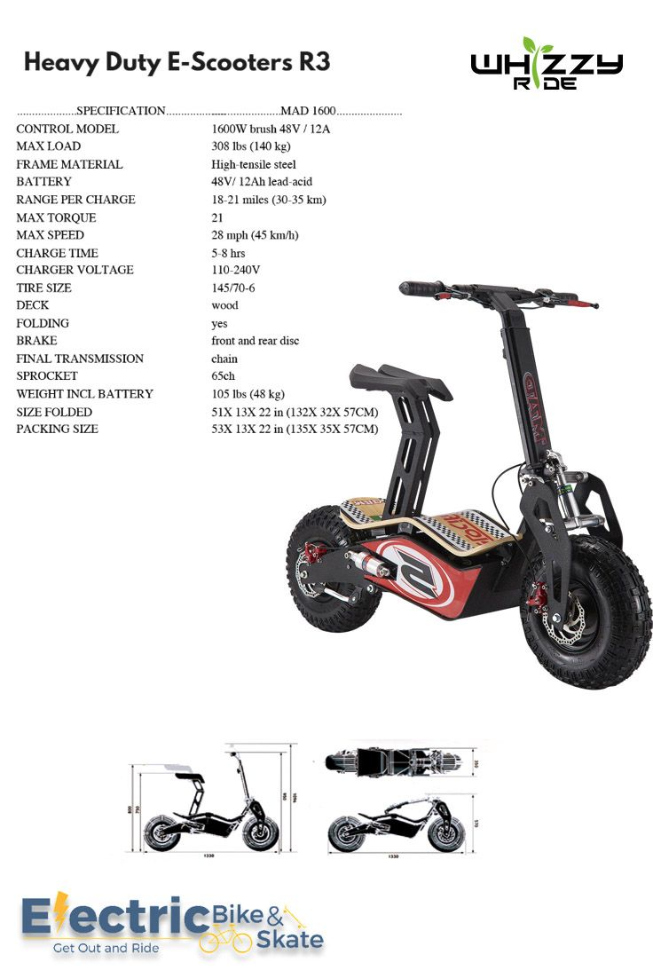 Pin By Electric Bike Skate On Electric Scooters Electric Scooter Heavy Duty E Scooter