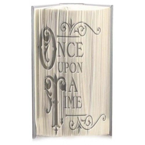 Once upon a time cut and fold book folding pattern 100% Free