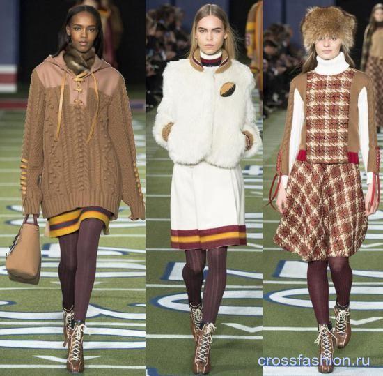 Как носить цветные колготки зимой 2016 Примеры модных сочетаний из коллекций