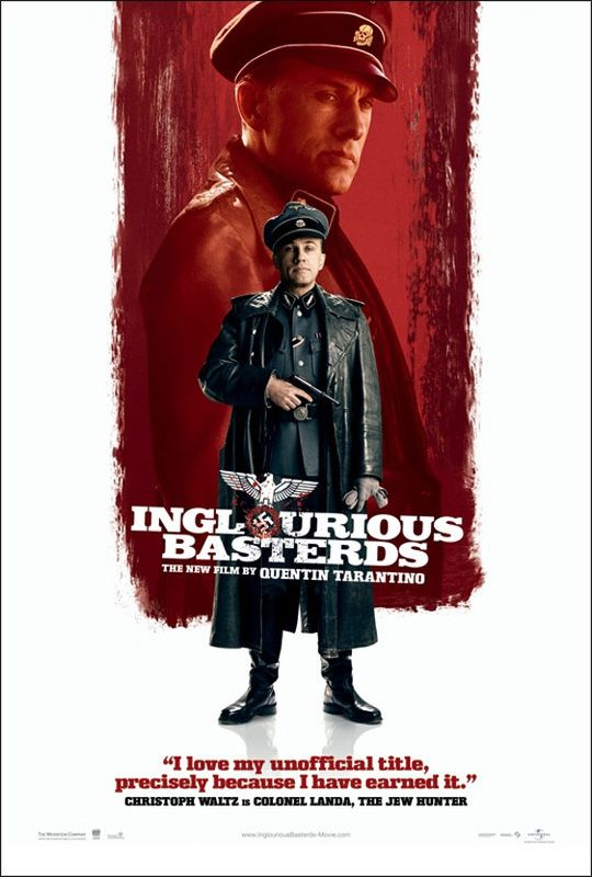 Christoph Waltz as SS Colonel Hans Landa - Inglourious Basterds