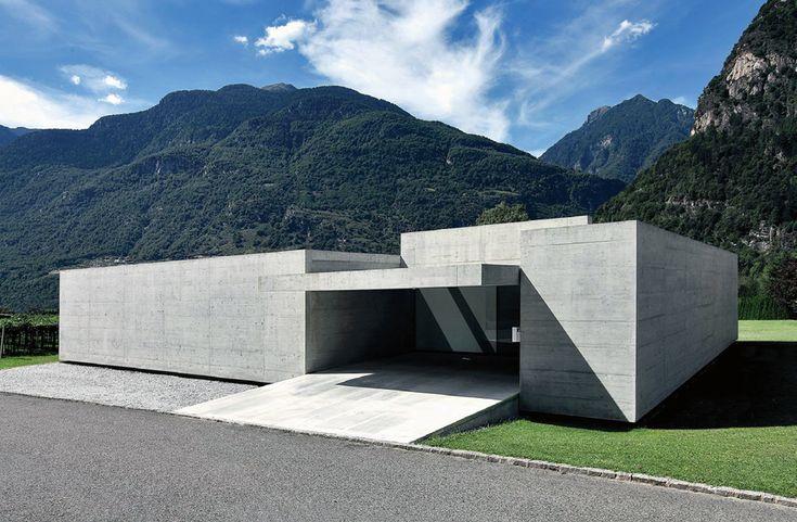 Luca Coffari - Family house, Biasca 2011. Via, photos © Filippo Simonetti.