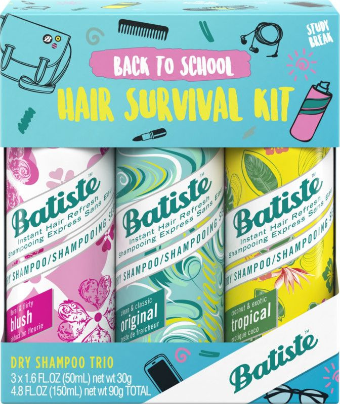 Batiste Dry Shampoo Revitalizes Hair Leaving It Feeling Clean And