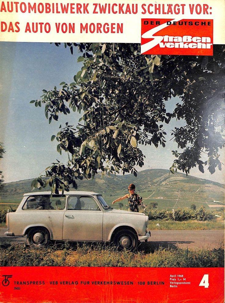 DDR 090 NR 4 1968 DER Deutsche Straßenverkehr Magazin Verkehr Fahrzeuge MOT | eBay