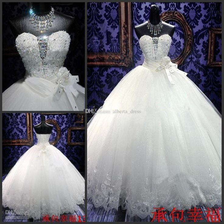 Cheap 2016 Said Mhamad Wedding Dresses With Long Sleeves Ball Gowns Sheer Corset Beaded Cathedral Bridal Crystals Custom Made As Low 16081