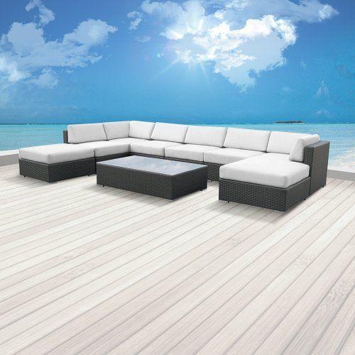 $1750 Luxxella Patio Mallina Outdoor Wicker Furniture 9-Piece All Weather Couch Sofa Set, Off-White Luxxella http://www.amazon.com/dp/B00CI32ST8/ref=cm_sw_r_pi_dp_pJdivb19KABAY