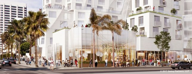 Frank Gehry halves Santa Monica hotel to meet height restrictions - Archpaper.com