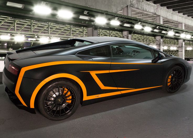 An Amazing Wrap On This Lamborghini Gallardo From Four Vectors