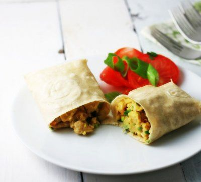Eggless Breakfast Taco by Florida Coastal Cooking