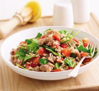 Quick tuna and rice salad   Australian Healthy Food Guide