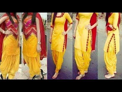53876eb6b4 Latest Party Wear Punjabi Suit Designs Collection   Maharani Besigner  Boutique - YouTube