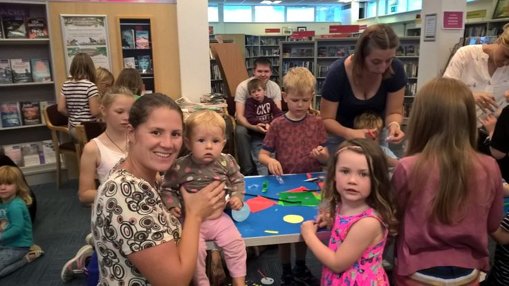 Summer Reading Challenge activity at Bishops Cleeve Library