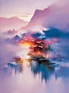 Hong Leung -  Twilight-mist - PROJEÇÕES DE UM PERFIL FUGIDIO