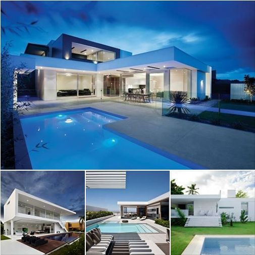 Contemporary Homes - Modest Inspirational Exterior Designs — in Manchester, United Kingdom.