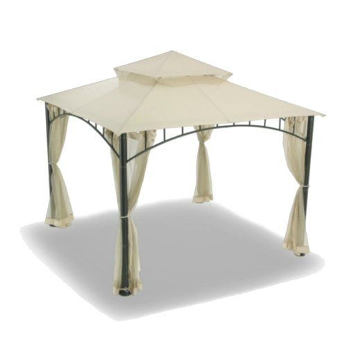 Replacement Canopy for Summer Veranda Gazebo - Beige Color by Garden Winds. $99.99. Please measure carefully, do not confuse this gazebo with the Sunjoy Madaga gazebo sold at Target stores. Compare using the below measurements. The Summer Veranda gazebo has smaller measurements than the Madaga gazebo.. This product includes canopy only, gazebo structure in picture sold separately.. The Sunjoy model numbers of the gazebos this canopy is designed to replace are G-GZ...
