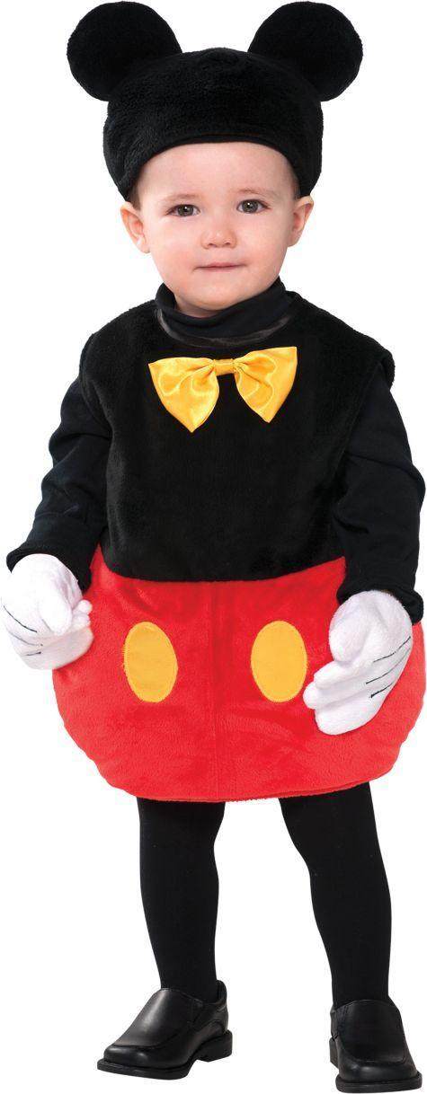 Baby Disney Mickey Mouse Costume - Party City    http://www.partycity.com/product/baby+mickey+mouse+costume.do?refType=&navSet=350538