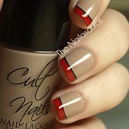 Оригинальный коричневый маникюр (33 фото) - Дизайн ногтей