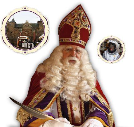Het kasteel van Sinterklaas in Helmond opent zijn deuren van 17 november t/m 3 december 2015