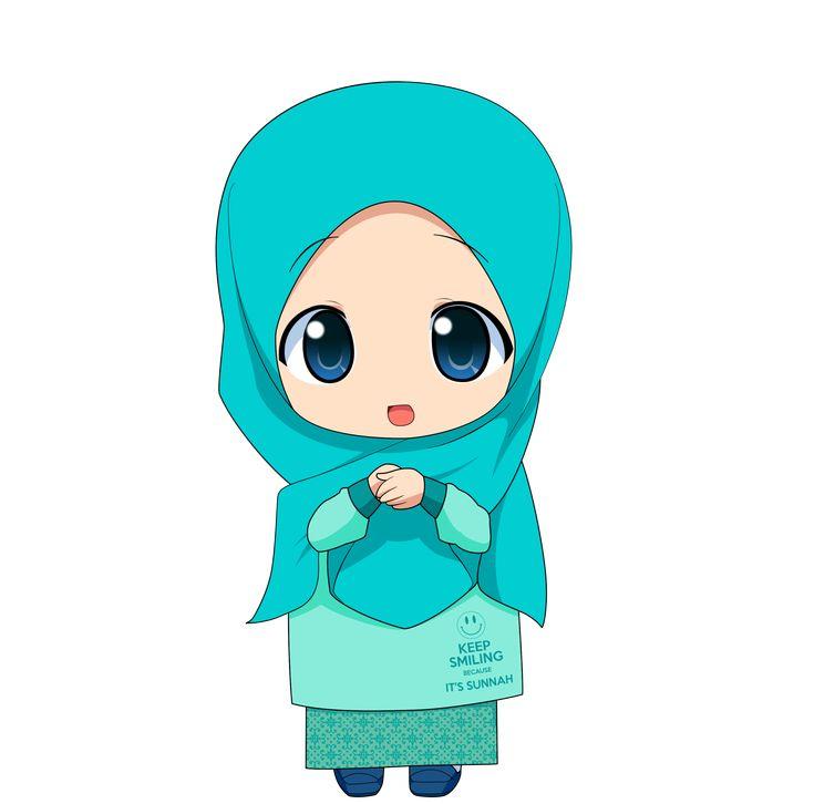 Chibi Muslimah 2 by TaJ92.deviantart.com on @DeviantArt
