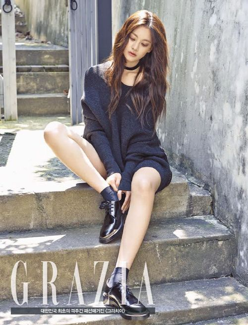 Oh Yeon Seo - Grazia Magazine October Issue '14
