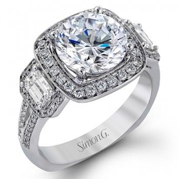 Simon G TR396 Engagement Ring- Genesis Diamonds