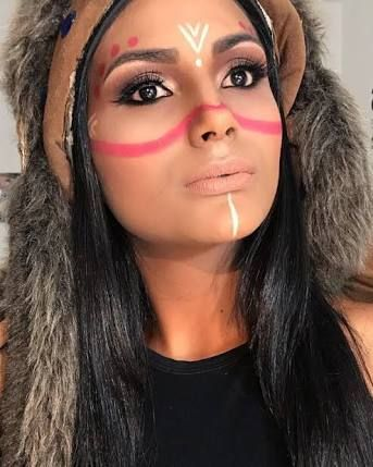 best 25 indian face paints ideas on pinterest indian face native american face paint and. Black Bedroom Furniture Sets. Home Design Ideas