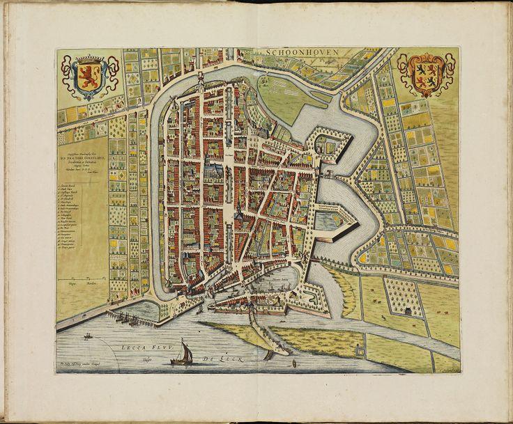 (City of) SCHOONHOVEN - Atlas De Wit