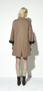 draped #Kimono made from a heavy jersey #NUSUM fw1516 Lookbook - fashion made in Hamburg