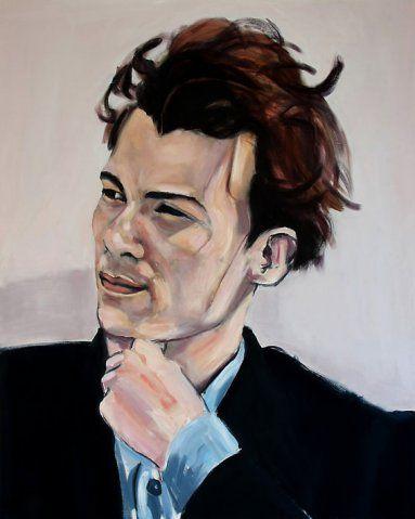 Glen Gould II   by Leon  Vermeulen  For more please visit http://www.finearts.co.za