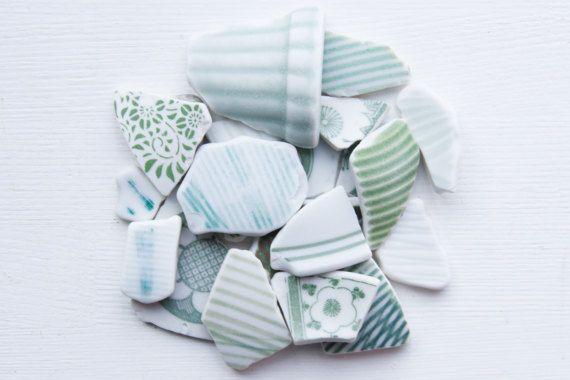 Japanese Green PotteryStriped Beach PotteryFloral Coastal