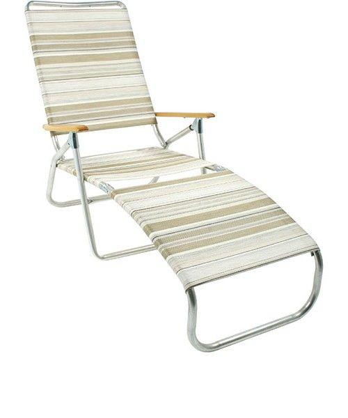 folding lounge chair for beach SOFAS & FUTONS Pinterest