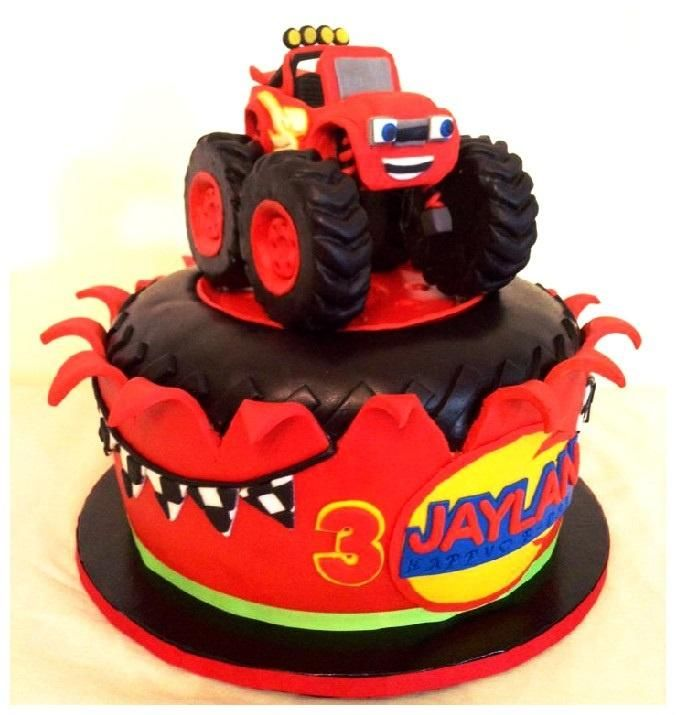 The monster truck - Cake by leolay