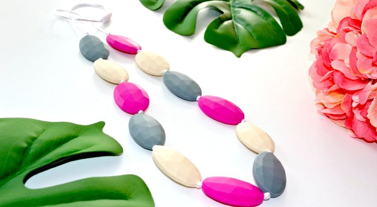 Bubba Chew necklaces are made from BPA free, non toxic silicone. Each feature a breakaway clasp so can't be broken. We can custom design if you wish, just send us a note!