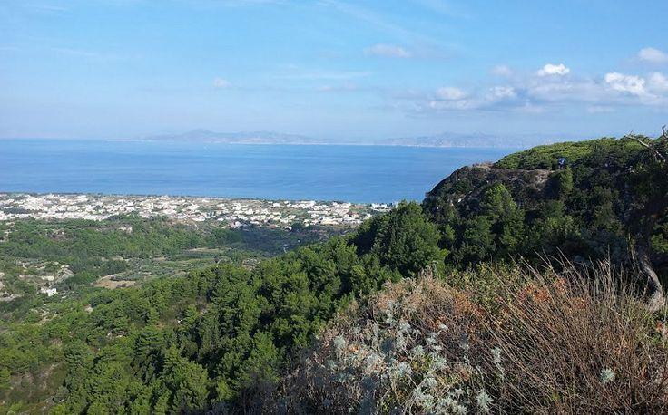 Vakantie Rhodos Trianda Ialyssos - uitzicht vanaf berg