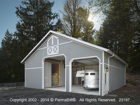 66 best images about garage ideas on pinterest horse for Pole barn for rv storage