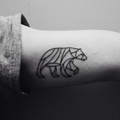 polar bear tattoo | Tattoo Dreams | Pinterest