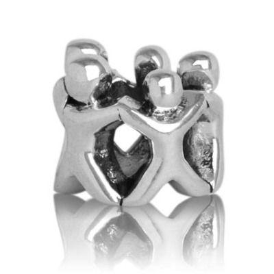 Evolve family circle (whanau) silver charm at Charlton Jewellers, Auckland, New Zealand
