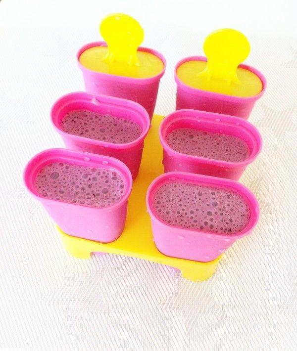 » Gezonde variant | Zelf yoghurt ijsjes maken