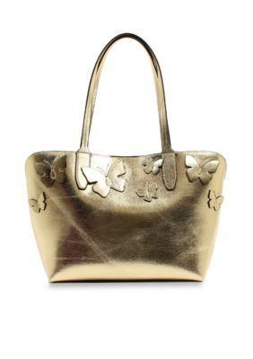 New Directions  Kimona Shopper Bag - Gold - One Size