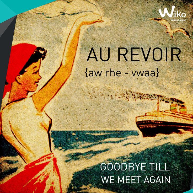 Wikonautes! How do you say Goodbye to a friend in French? اصدقاء ويكو ! من يعرف كيف تودع صحابك بالفرنسي؟  #Wikopedia #GameChanger #TuesdayClass #ويكو #فرنسا #تعلم_الفرنسية