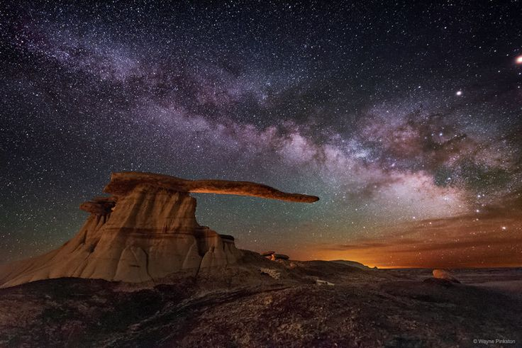 """""""King of Wings Hoodoo under the Milky Way"""" 