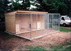dog kennel outdoor - Google Search